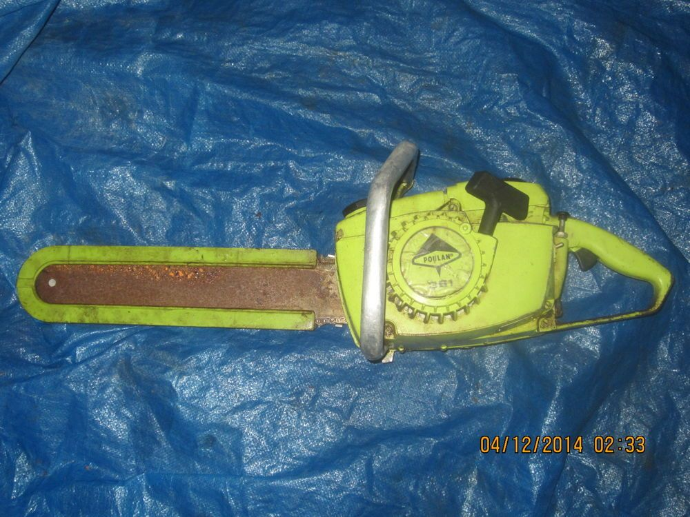 Poulan 361 vintage chainsaw #Poulan | varietyvintageplace