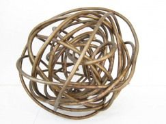 :: DESIGN :: adore the Brass wire sphere by Martha Sturdy, available through Provide Home #design