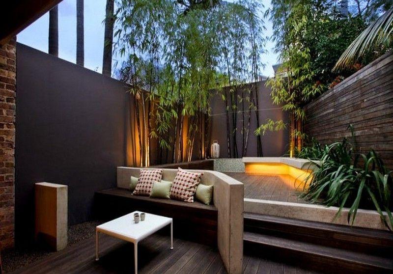 Amazing Courtyard By Yael Andriguetto Modern Backyard 400 x 300