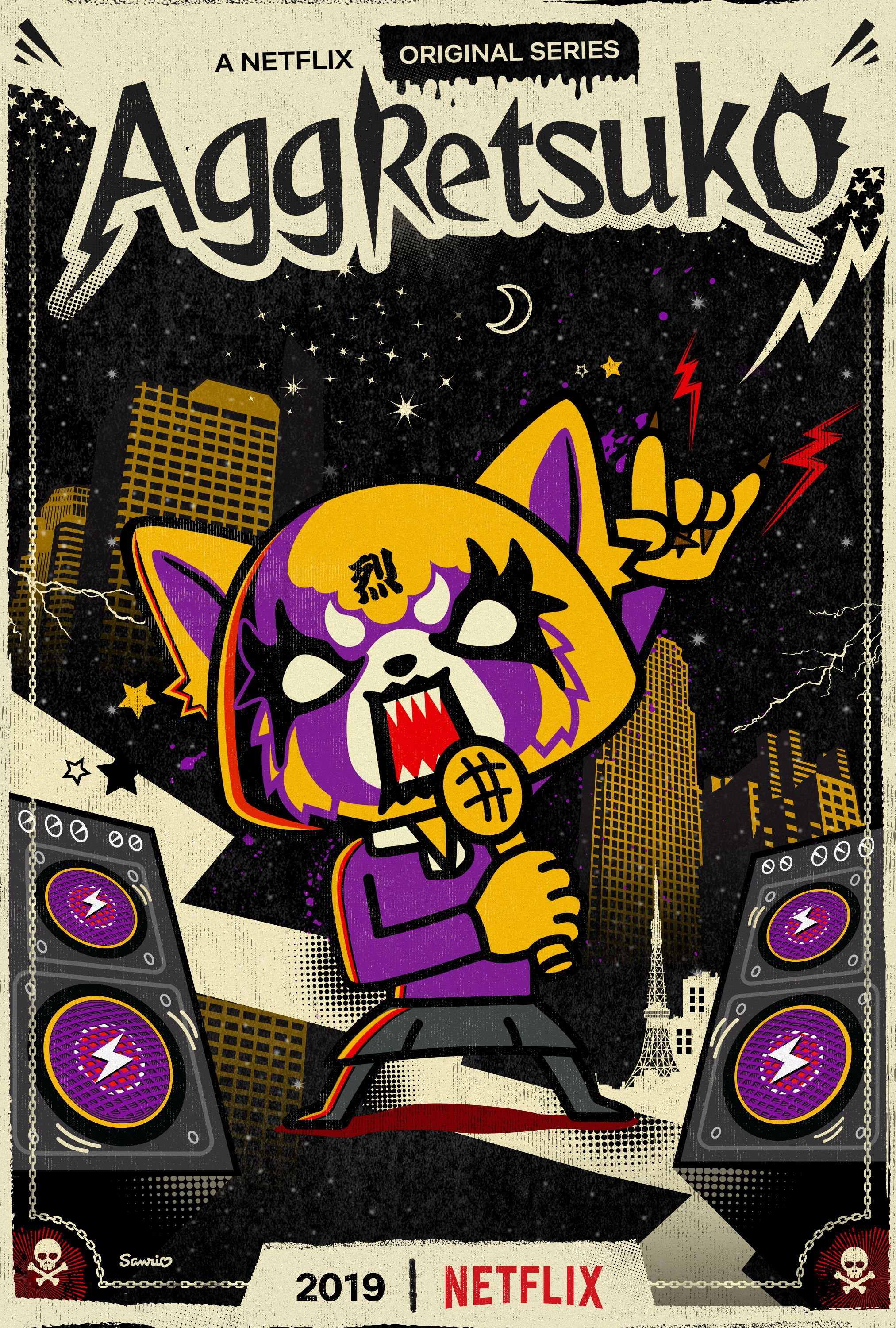 Aggretsuko Best anime shows, Top anime shows, Anime shows