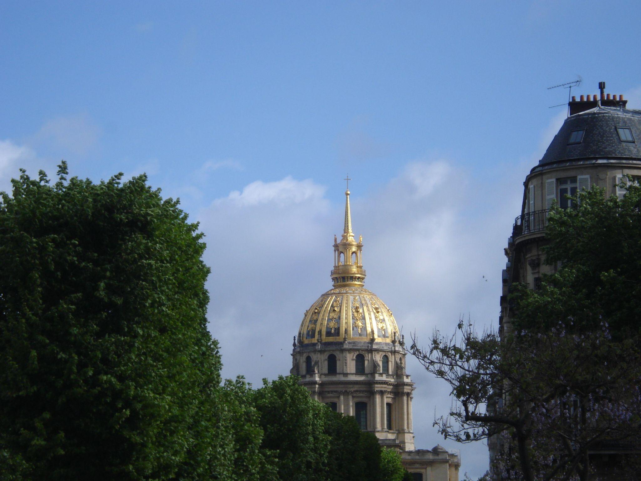 Invalides. Paris after the tempest.