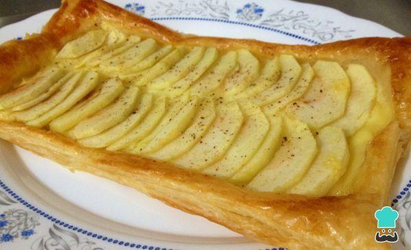 Pastel De Manzana Y Crema Pastelera Receta Receta De Pastel De Manzana Crema Pastelera Pastelera