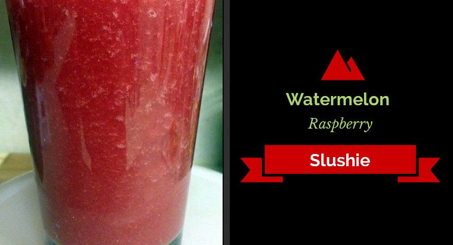 Give this raw vegan slushie a try if you find yourself craving for the unhealthy version. It's full of fresh fruit and chock-full of nutrition that's free from any added sugars!