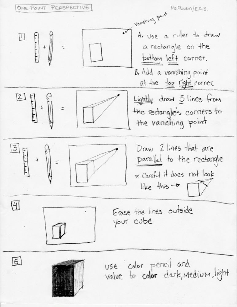 Ellenville Elementary Art Studio: Worksheets   Art How to Draw ...