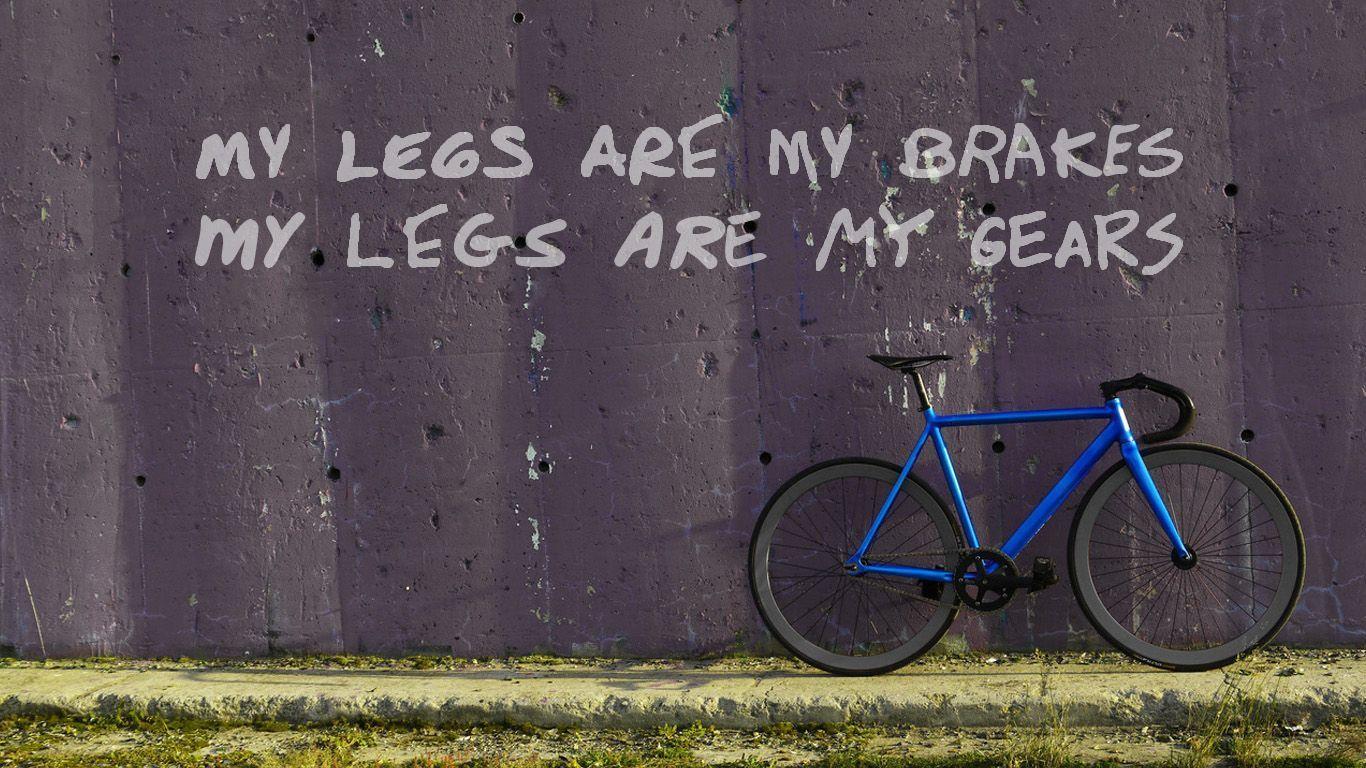 Download 1920x1080 Minimalistci Fixed Gear Bike Wallpaper