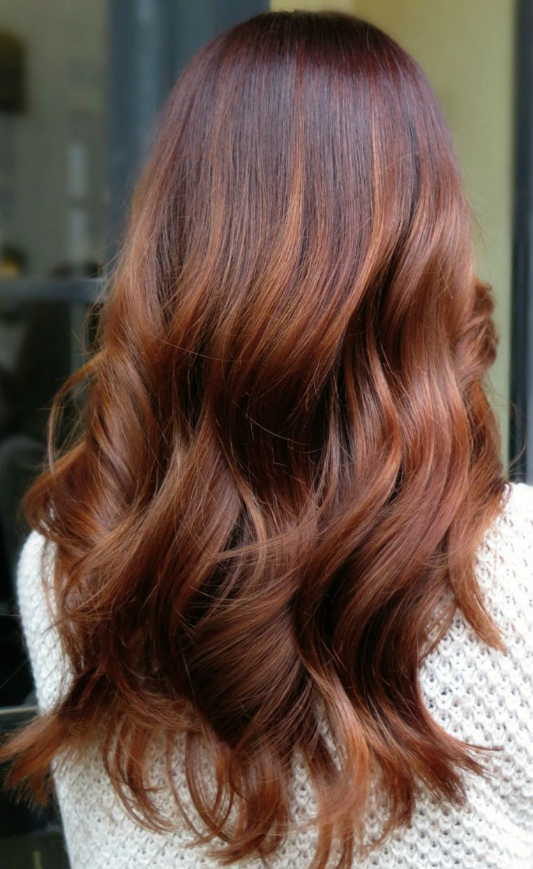 Rose Gold Copper Ombre Balayage Hair Hair Styles Dyed Hair