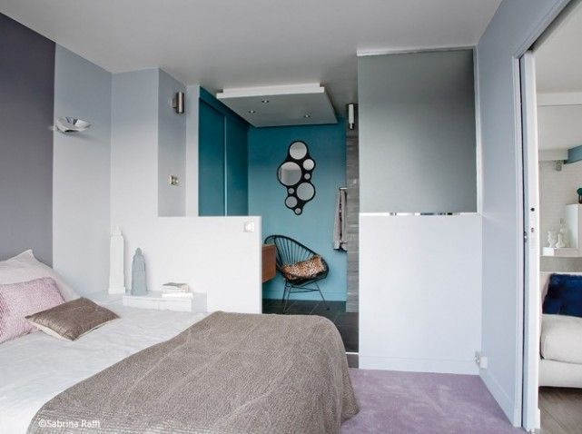 petite chambre nos 25 id es d co chambres minuscules. Black Bedroom Furniture Sets. Home Design Ideas