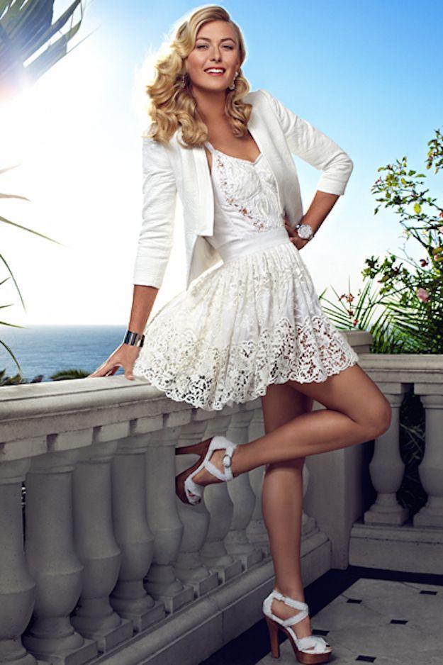 Hermosa mujer Maria Sharapova  – Bolsa
