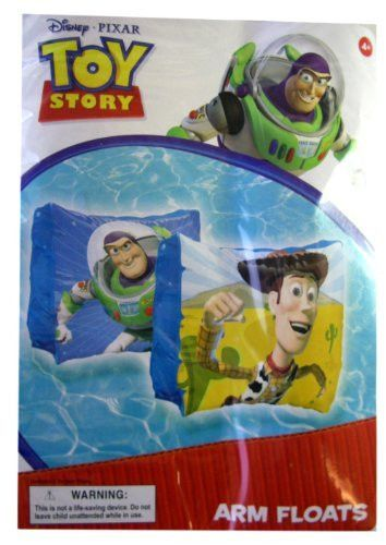 b03df391255e Disney Pixar Buzz and Woody Toy Story Arm Floats - Toy Story Swim Gear - Toy