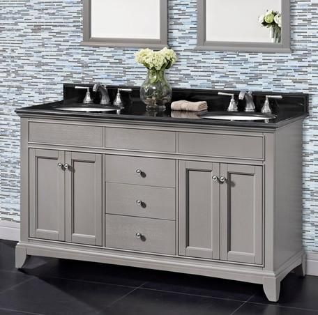 Gallery One Fairmont Bathroom Vanity Smithfield Double Sink Collection
