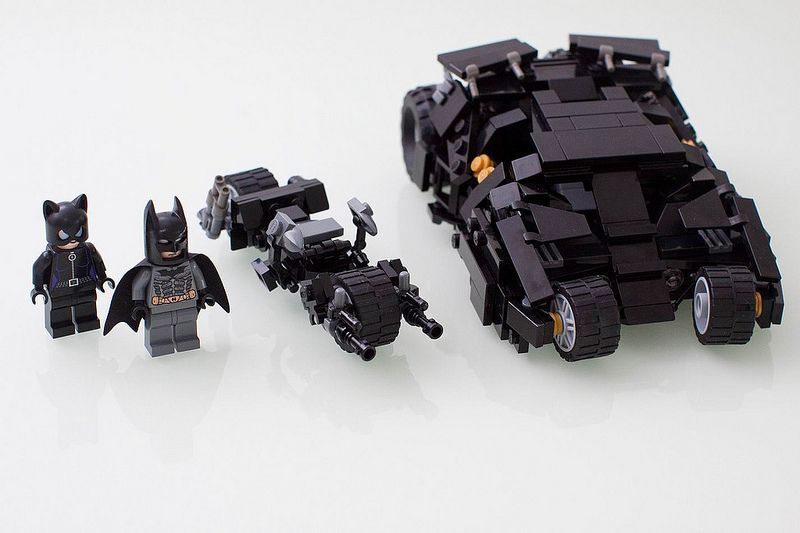 Batman Catwoman With Tumbler Batpod Would Love To Have This