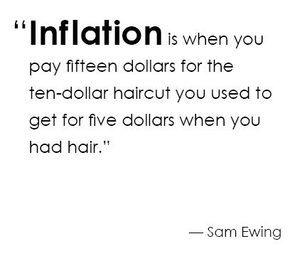 inflation #quote | quotes | Pinterest | Nice and Quotes