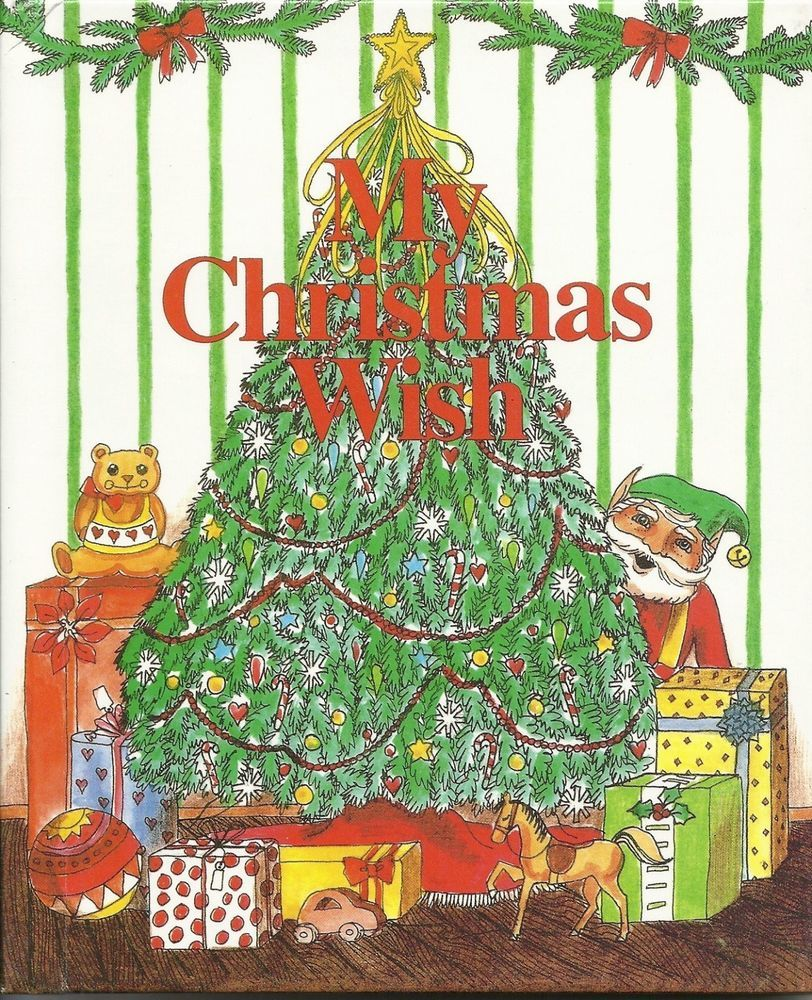 my christmas wish personalized childrens christmas book free shipping