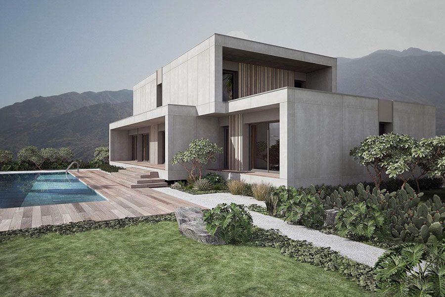 Case Legno Design Moderno.Case Prefabbricate In Legno Ecologiche Dal Design Moderno