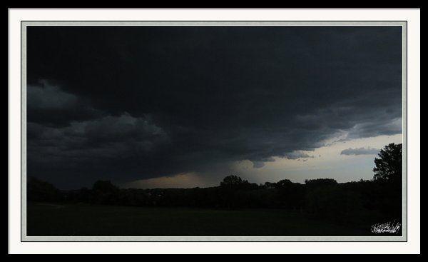 Wall Cloud The Storm Framed Print By Stephanie Forrer-Harbridge