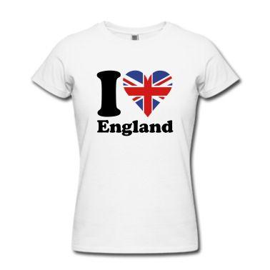 I Love Uk T Shirt Spreadshirt