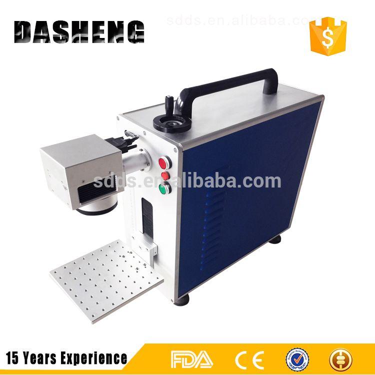 10w 20w 30w Portable Desktop Fiber Laser Engraver Laser Printer Pcb Laser Marking Machine 15 Years Years Experience Alibaba