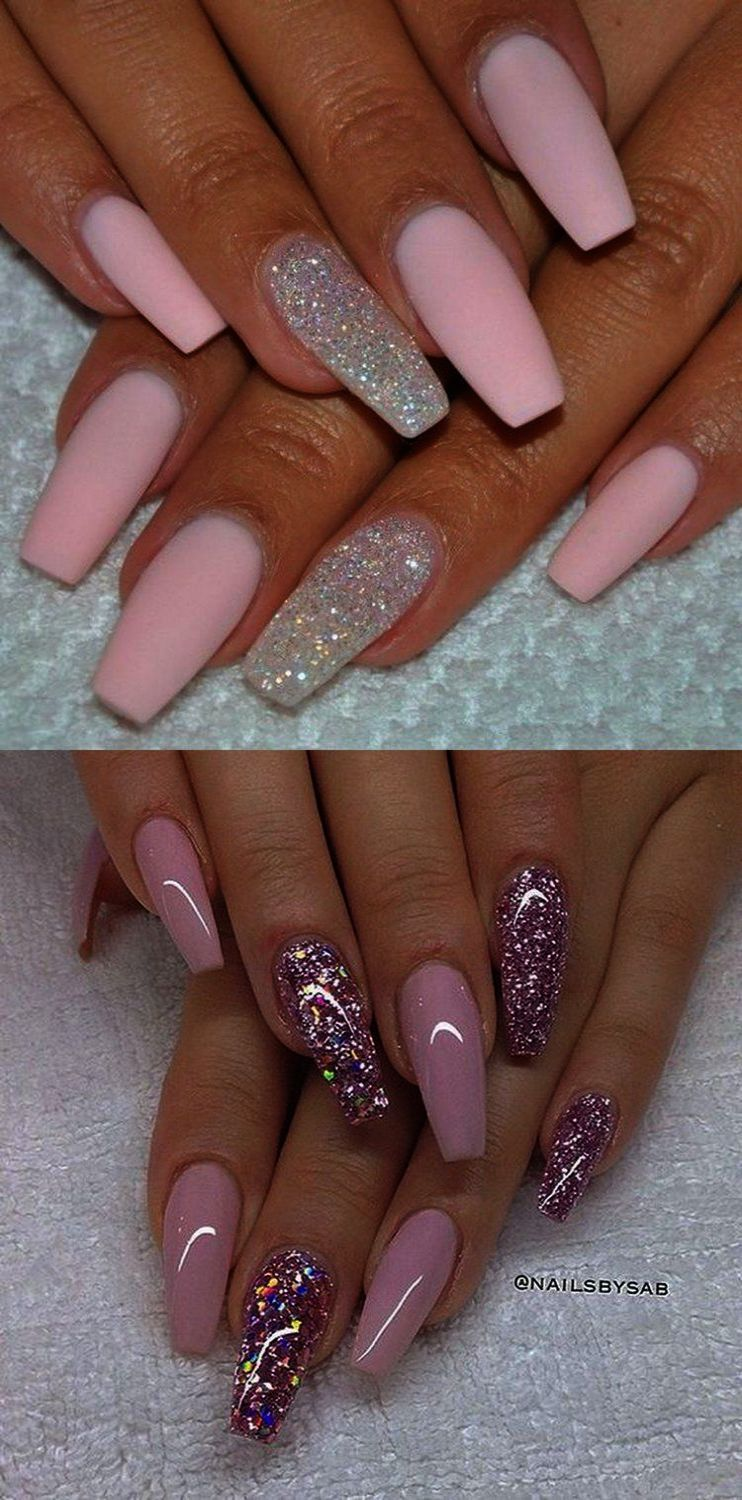 Home Blend Of Bites Pink Nail Art 2016 Nails Trends Nails