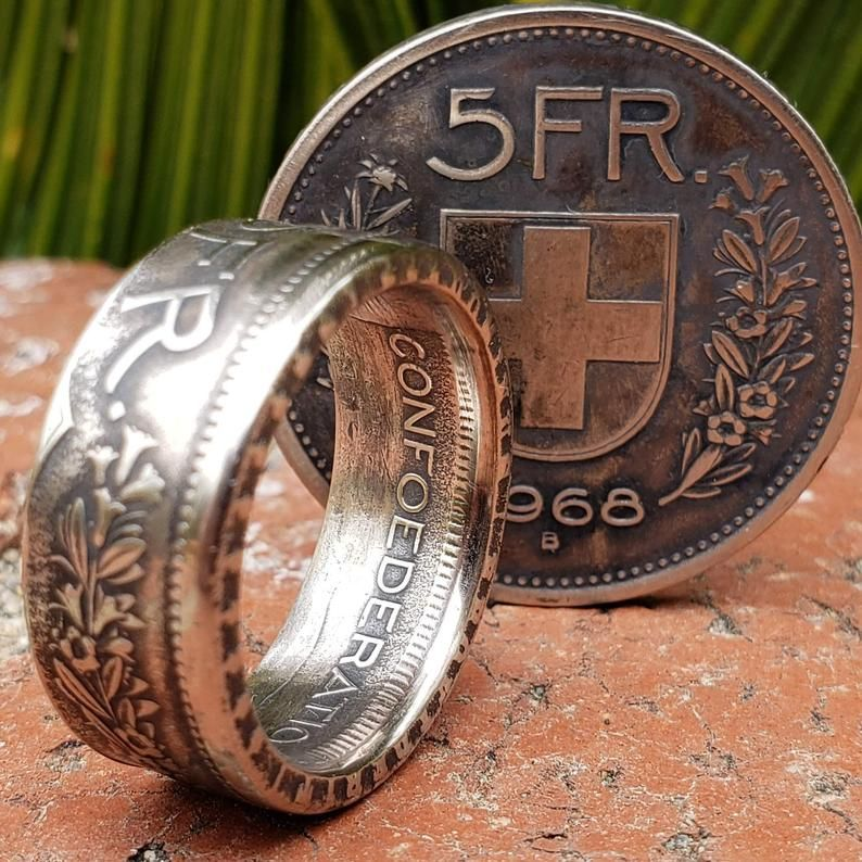 dl heritage coin rings