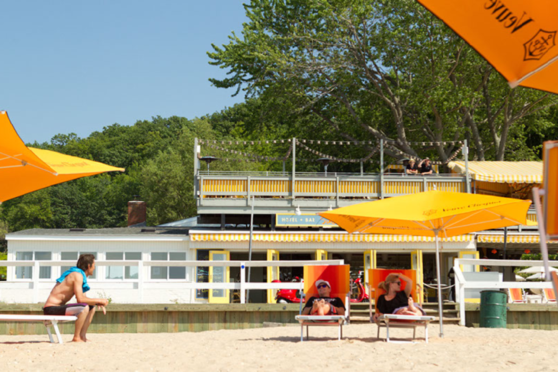 Sunset Beach Shelter Island Ny