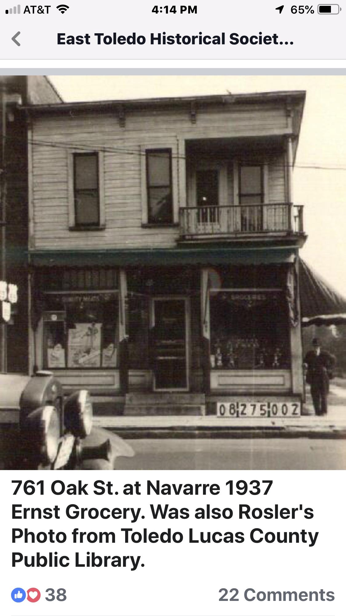 Store used to go when I went to Navarre school😎 Toledo