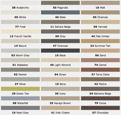 Mapei Grout Colors Design Dump Tile Installation Notes