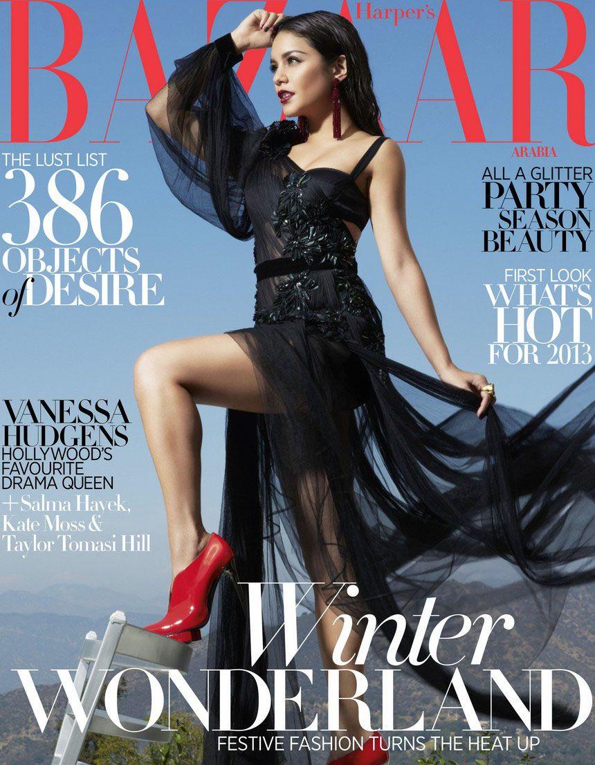 Salma Hayek Harpers Bazaar, November 2012 new pictures