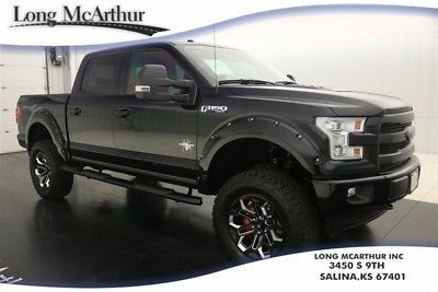 2017 Ford F 150 Lifted 4x4 Black Widow Lariat Msrp 75835 Black