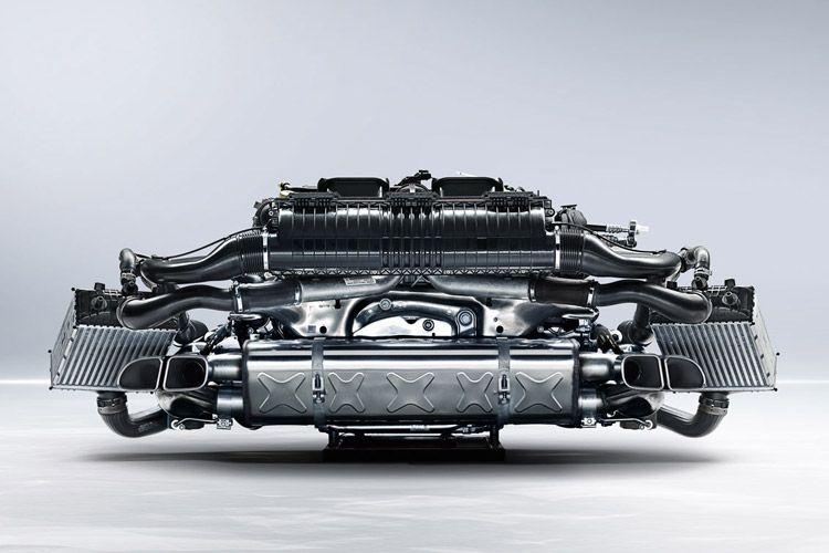 New Porsche Flat 4 Engine. #flat4 #porscheengine