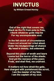 Image Result For Invictus Poem Pdf Invictus Poem Poems