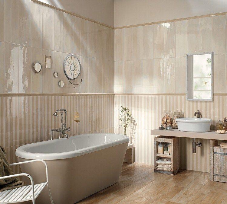 Beautiful Deco Salle De Bain Vintage Ideas - Seiunkel.us - seiunkel.us