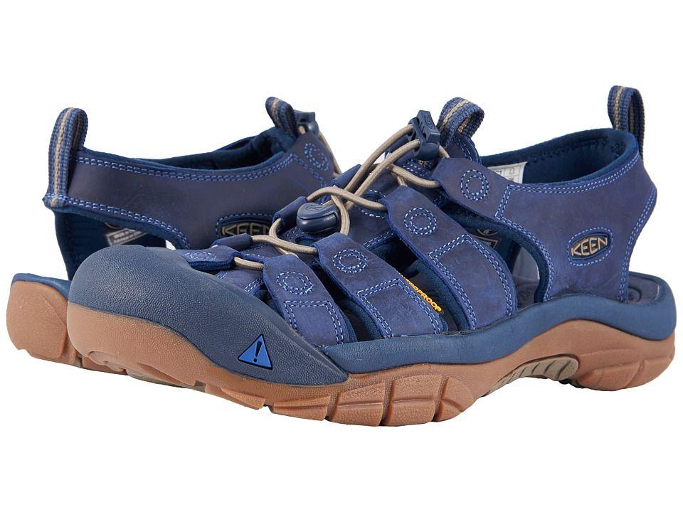 6f24ece217 Keen Newport Evo Men's Shoes Yankee Blue/Dress Blues | Products ...