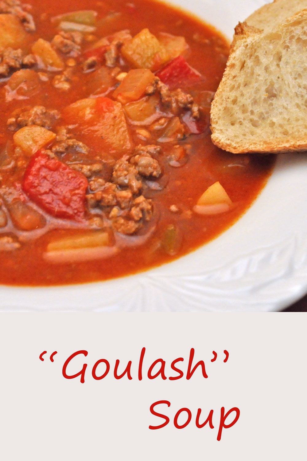 Goulash Soup Sunsets Thyme For Cooking Recipe Goulash Soup Budget Dinner Recipes Soup