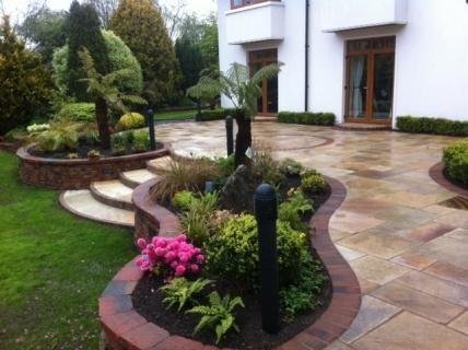 maintenance free landscaping ideas - Google Search | Patio ...