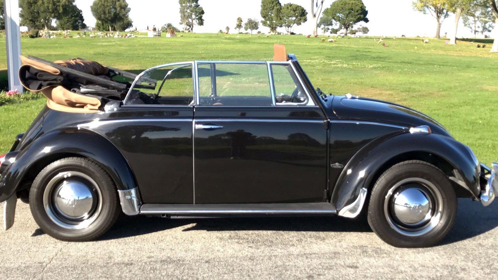 1965 VW Beetle Convertible, 4-Speed, Restored. Mecum Auctions, Lot ...