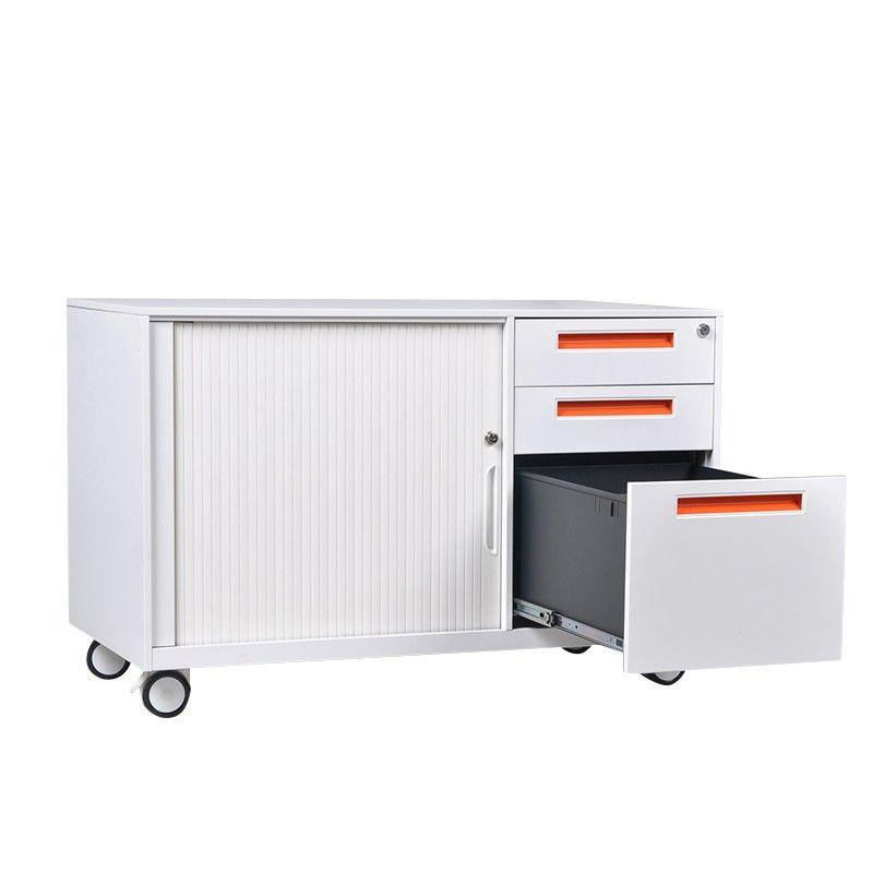 Professional Design Office Movable File Cabinet 3 Drawer Metal Mobile Pedestal Cabinet Office Design Design Office