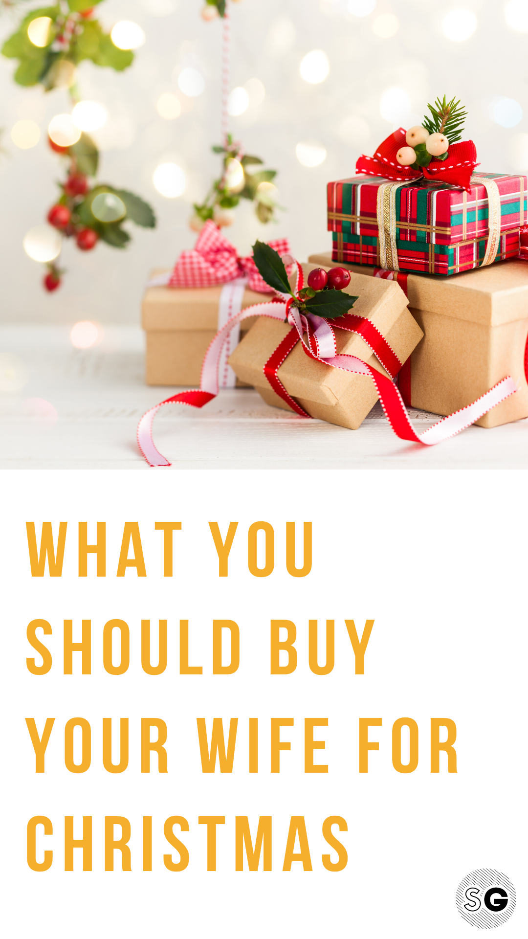 Need ideas on what to buy your wife or girlfriend for the