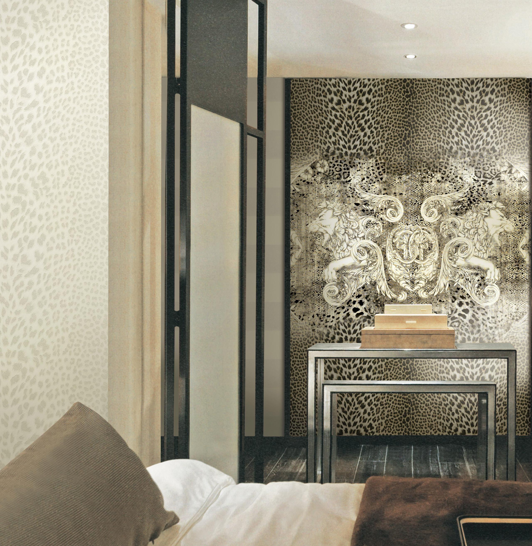 "Icona"" Roberto Cavalli wall panels collection"