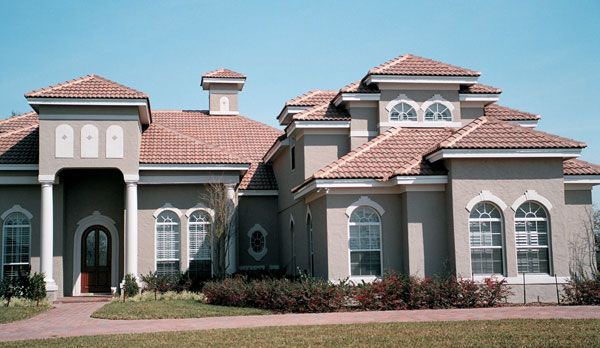 Concrete Roof Tile In Many Beautiful Styles And Colors Terracotta Roof Concrete Roof Tiles Roof Tiles