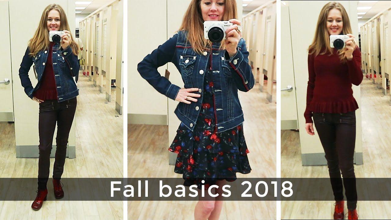 299f5e91c2ae Fall Style Guide 2018 for women over 40 - fall basics