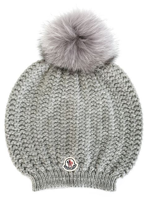 db3691c845b Shop Moncler bobble top beanie in Emerson Renaldi from the world s best  independent boutiques at farfetch.com. Shop 300 boutiques at one address.