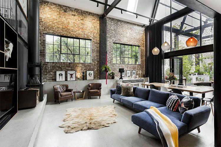 Industrial Style Interior Design Home Decor Ideas In 2020 Industrial Style Interior Industrial Interior Design Interior Design Rustic