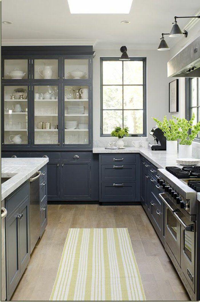 la cuisine grise plut t oui ou plut t non modele de cuisine moderne cuisines grises et. Black Bedroom Furniture Sets. Home Design Ideas