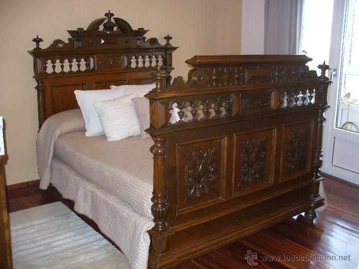 Camas antiguas buscar con google lovely beds - Camas antiguas de hierro ...