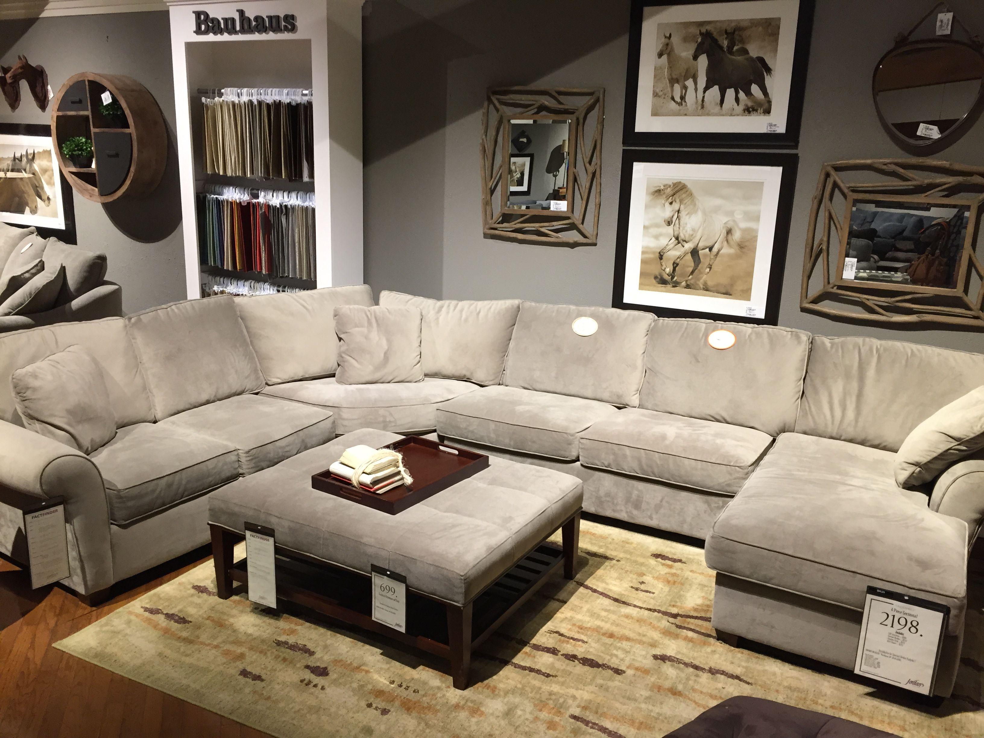 Jordans sectional / sunbrella | New Living Room | Pinterest | Living ...