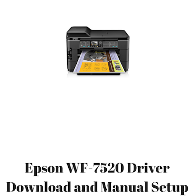 epson wf 7520 driver download and manual setup hp pinterest rh pinterest com epson wf 7510 manual Epson WF-7520 Driver