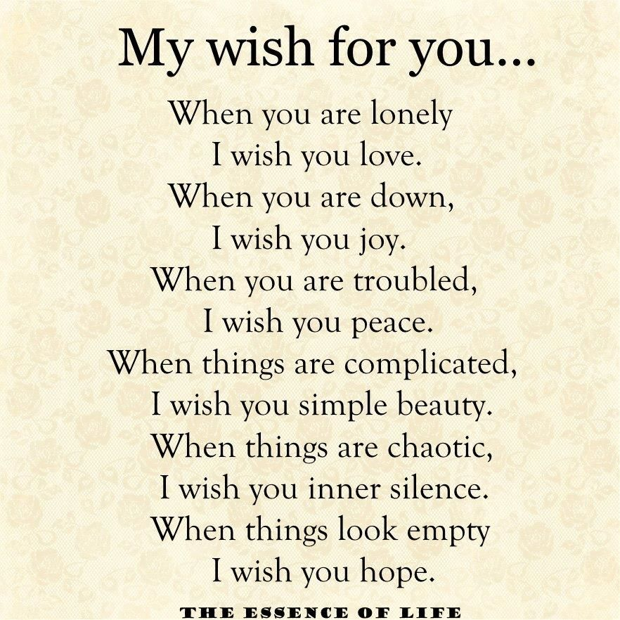 My Wish For You Inspiration Inspiring Positivity And Quotes
