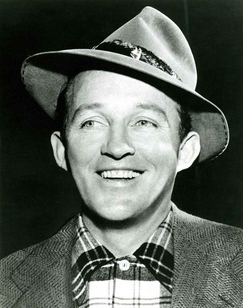 """Bing Crosby introduces """"White Christmas"""" to the world on"""