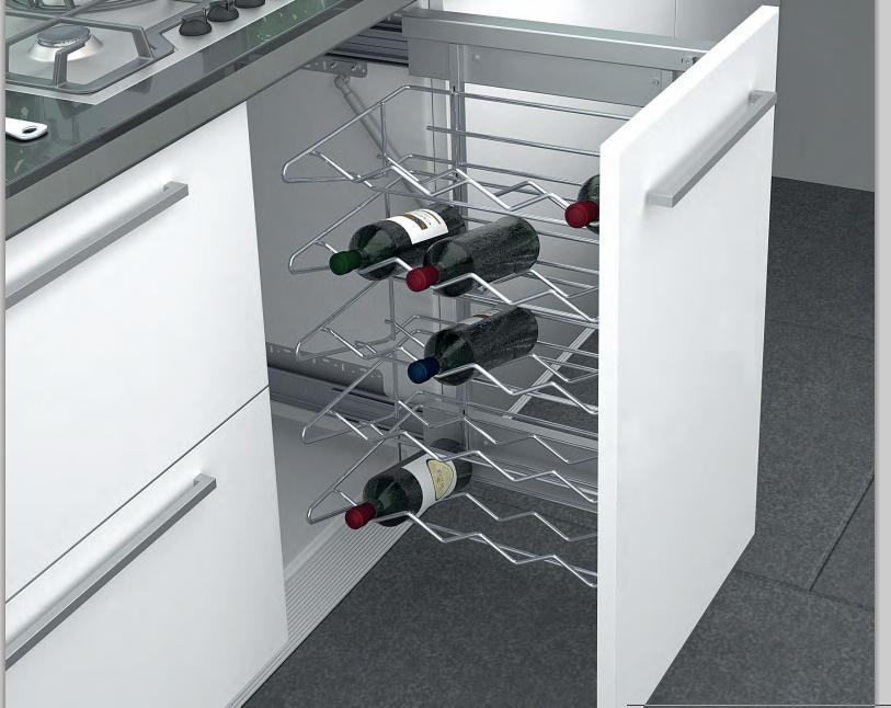 Cocinas tipos de muebles para organizar tu cocina madrid herrajes para el mueble de cocina - Muebles de cocina madrid ...