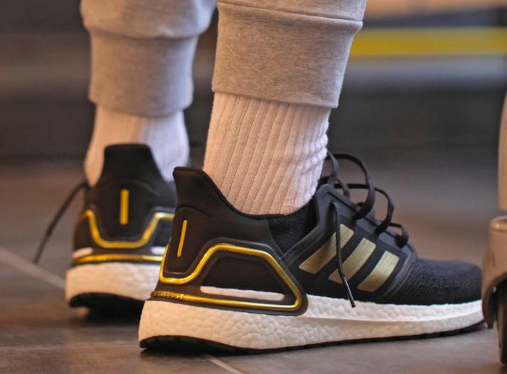 Adidas Ultraboost 20 Black / Metallic Gold $77.00 | Ultraboost 20 ...